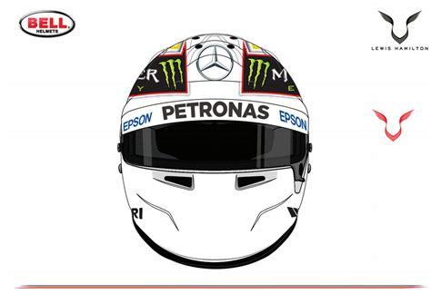 helm design f1 design de nieuwe helm van lewis hamilton autowereld
