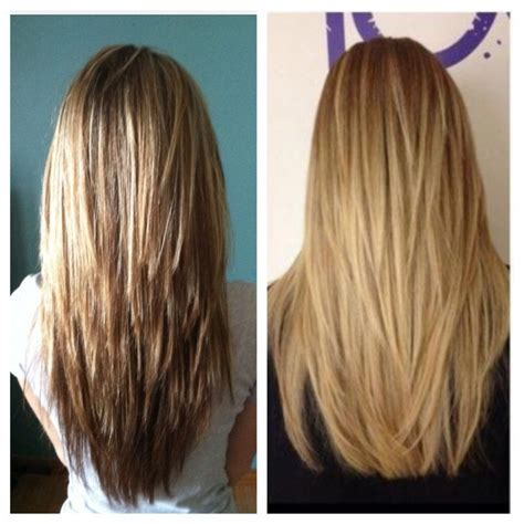 hair cutting inside layers the 25 best ideas about v layered haircuts on pinterest