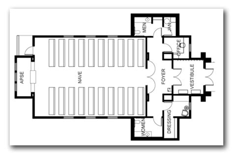 Tiny Home Blueprints by The Chapel Floor Plan Tamarack Resort