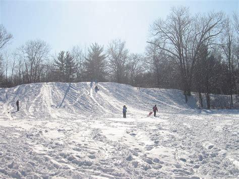 sledding michigan michigan sled snow sledding