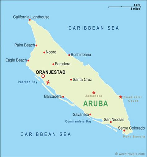 caribbean map aruba weather and price gt gt and bad times to travel the