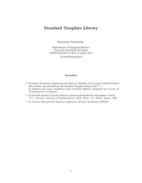 c standard template library gestione file in c dispense