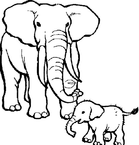 Coloring Pages Elephants Chuckbutt Com Free Elephant Hiding Coloring