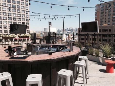 Top Bar Nj by Roof Top Bar Picture Of City Bistro Hoboken Tripadvisor