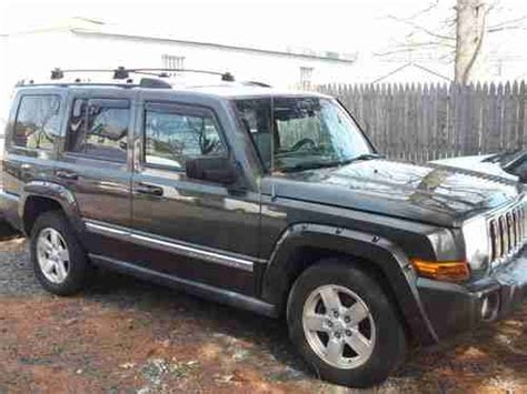 Jeep Commander Aftermarket Parts Buy Used 2006 Jeep Commander Limited Water Damage Great
