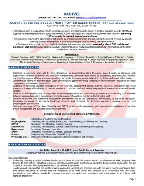 rf engineer resume format best pictures and description