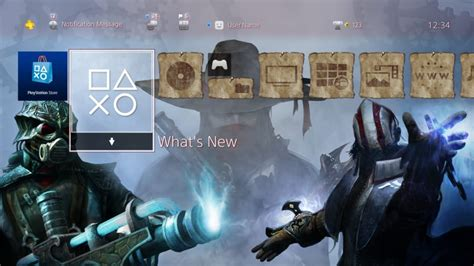 ps4 themes empty van helsing i and ii on ps4 themes and avatars