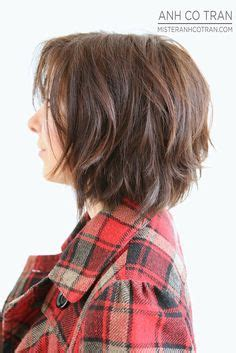 textured layered wavy hair by anh co tran hair with a anh co tran short hair search results hairstyle galleries