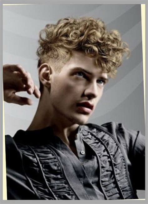 mens haircuts blonde curly 5 hairstyles for curly hair