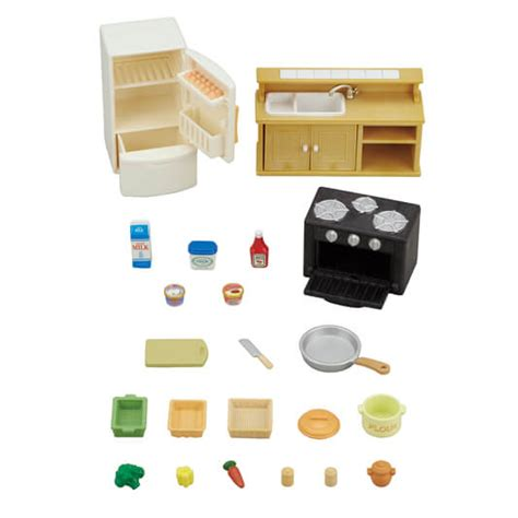 Classic Kitchen Set by Sylvanian Families Official Site
