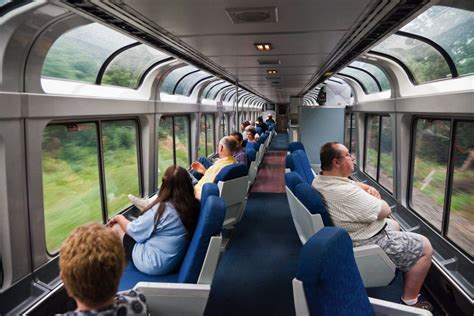 Amtrak Interior by Lounge Car Interior On Amtrak S Empire Builder Lounge