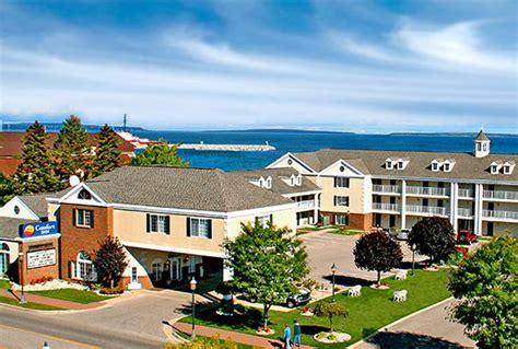 comfort inn lakeside mackinaw city hotels comfort inn lakeside hotel