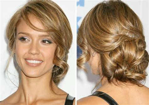bridesmaid hairstyles jessica alba help me find a wedding hairstyle weddingbee
