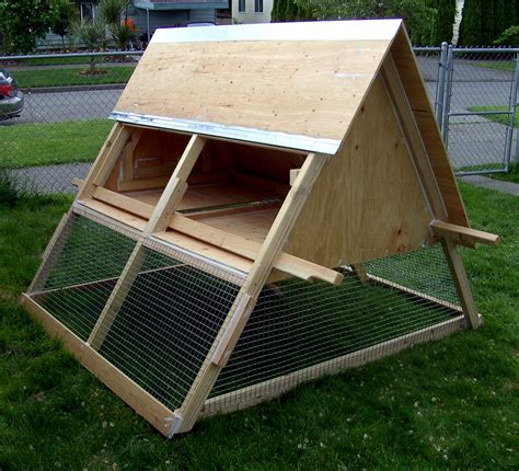 A Frame Chicken Tractor Seattle Chicken Ranching A Frame Chicken House Plans