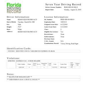 Department Of Safety Drivers Records How To Keep A Clean Record