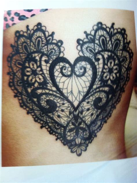 lace heart tattoo designs best 25 lace ideas on lace sleeve