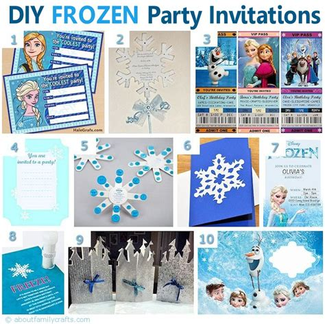 75 diy frozen birthday party ideas about family crafts 75 diy frozen birthday party ideas about family crafts