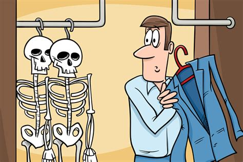quiz how many skeletons do you in your closet