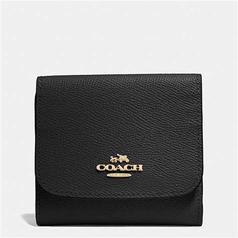 Coach Wallet For By Bagladies coach small wallet in crossgrain leather