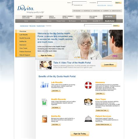 Davita Application Davita Launches Patient Health Portal Davita