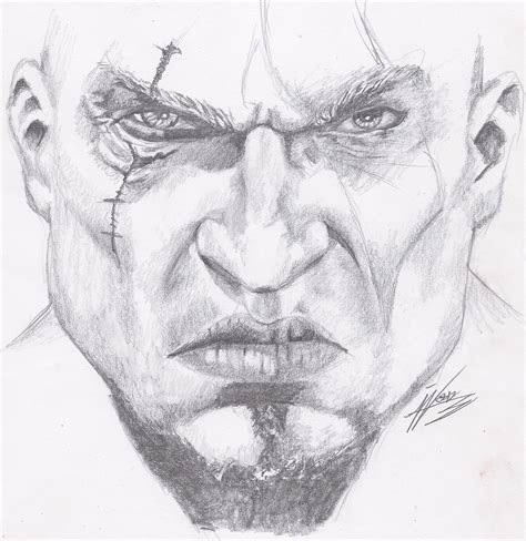 imagenes de kratos para dibujar faciles dibujos for kratos god war para colorear tattoo