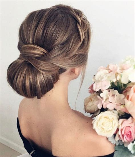bridal hairstyles elegant this elegant chignon wedding hairstyle perfect for any