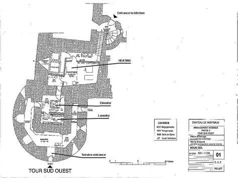 chateau homes floor plans montbrun castle french medieval chateau maps and plans