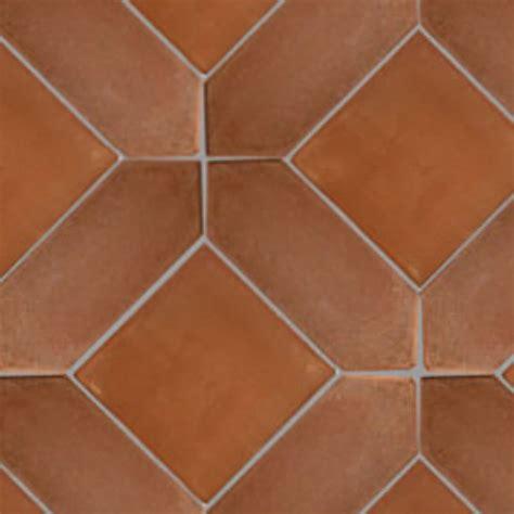 Spanish terracotta rustic tile texture seamless 17128