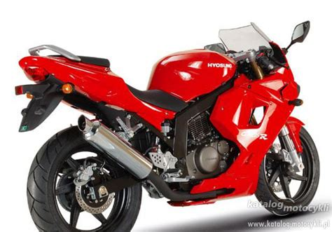 Motorrad 125 Supersportler by Hyosung Katalog Motocykli