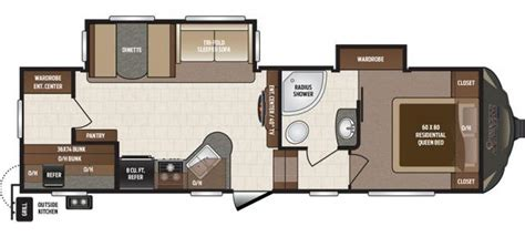 sprinter 5th wheel floor plans 2016 keystone sprinter 274bhs