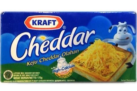 B9 Kraft Keju Cheddar Olahan 175g kraft cheddar keju cheddar olahan 6 17oz 8998009080500