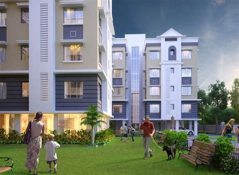 in house real estate eden eden richmod park residential project apartments in kolkata