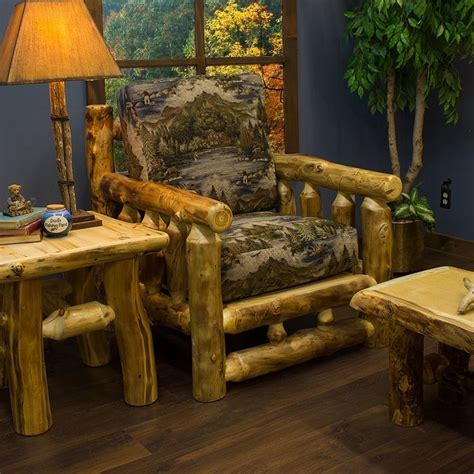 25 best ideas about rustic log furniture on