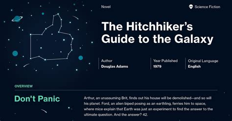 the hitchhiker s guide to the galaxy the hitchhiker s guide to the galaxy chapter 1 summary