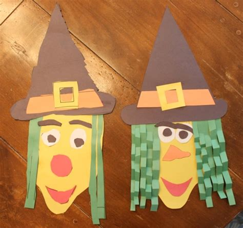 Simple Crafts With Construction Paper - easy craft construction paper witch go west