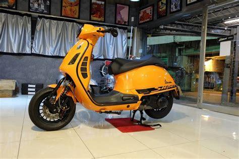 Cover Motor Vespa Sprint vespa gts orange small front mud cover vespa