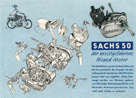 Sachs Motor 50 2 by Moped Garage Net Sachs 50 Motor Postkarte Post Karte