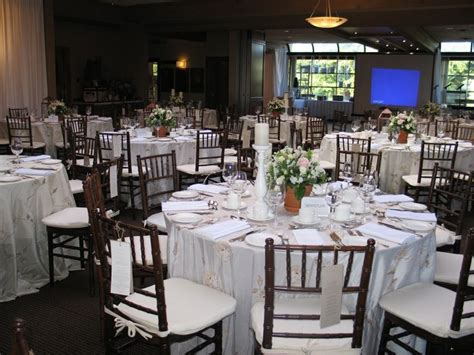 cypress room cypress room reception facing the screen brown chivari chairs weddings at shaughnessy golf and