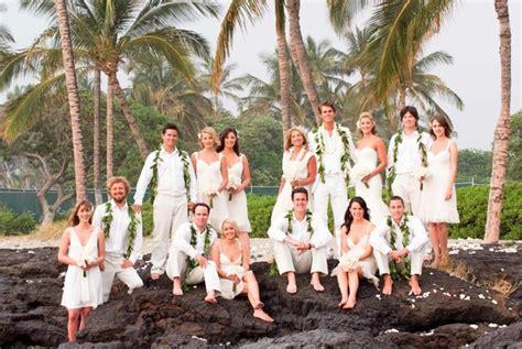 Wedding Attire Hawaii by All White Destination Wedding In Hawaii Inside