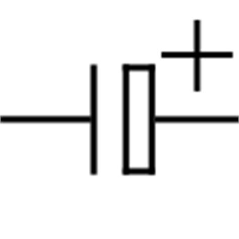 capacitor letter symbol electronic symbol