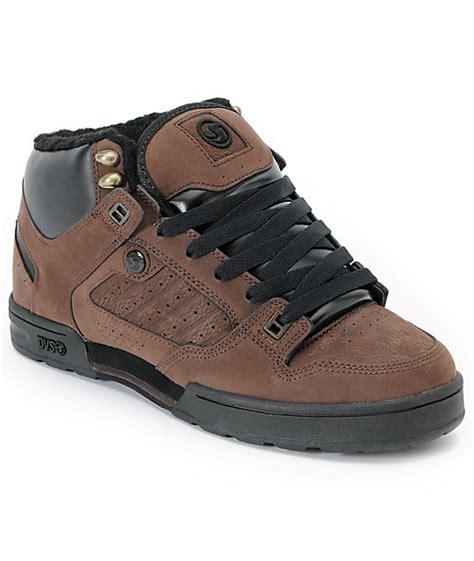 dvs militia brown nubuck boot