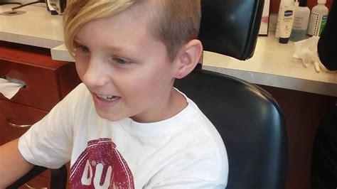 parents let 10 year boy get ear pierced