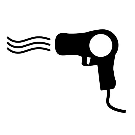 Hair Dryer Clipart Black And White dryer clipart clipart suggest
