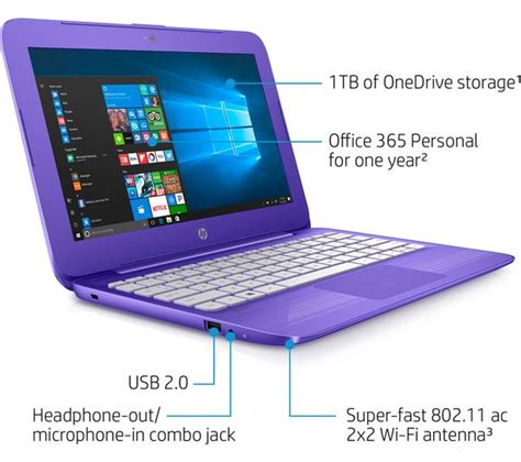 Hp Laptop 11 6 hp 11 y051sa 11 6 quot laptop purple deals pc world