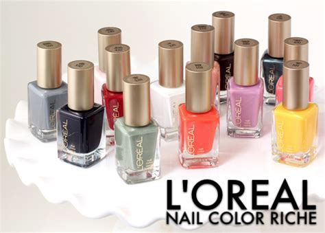 loreal nail colors these new l oreal nail colors make it hip to be