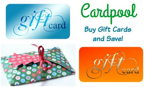 Carpool Gift Card - cardpool discounted gift cards bullock s buzz