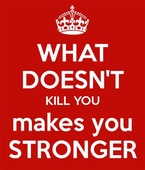 stronger what doesnã t kill you an addictã s ã s guide to peace books what doesn t kill you makes you stronger poster amour97