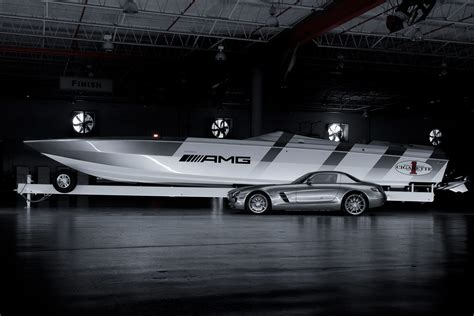 amg speed boat price 130 mph mercedes sls amg inspired speedboat has everything