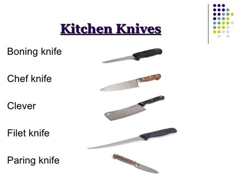 Kinds Of Kitchen Knives kinds of kitchen knives 100 images types of kitchen