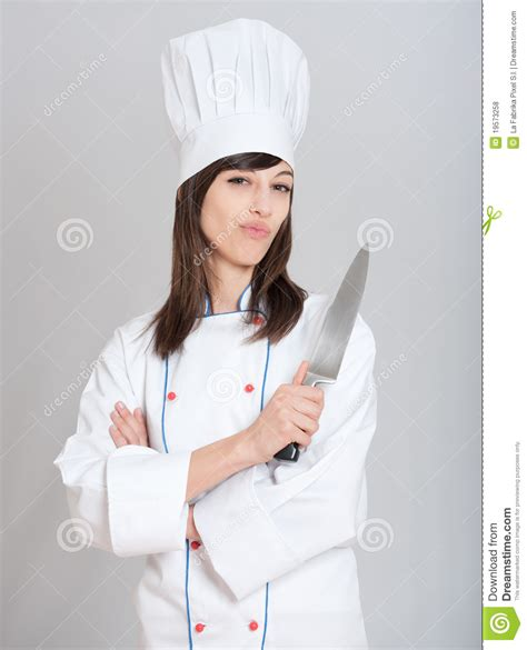 chef with knife chef with knife royalty free stock photos image 19573258
